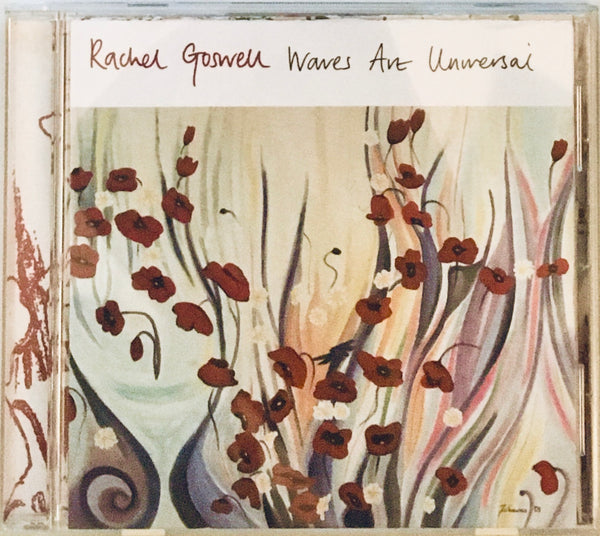 "Rachel Goswell ""Waves Are Universal"" PROMO CD (2004)"