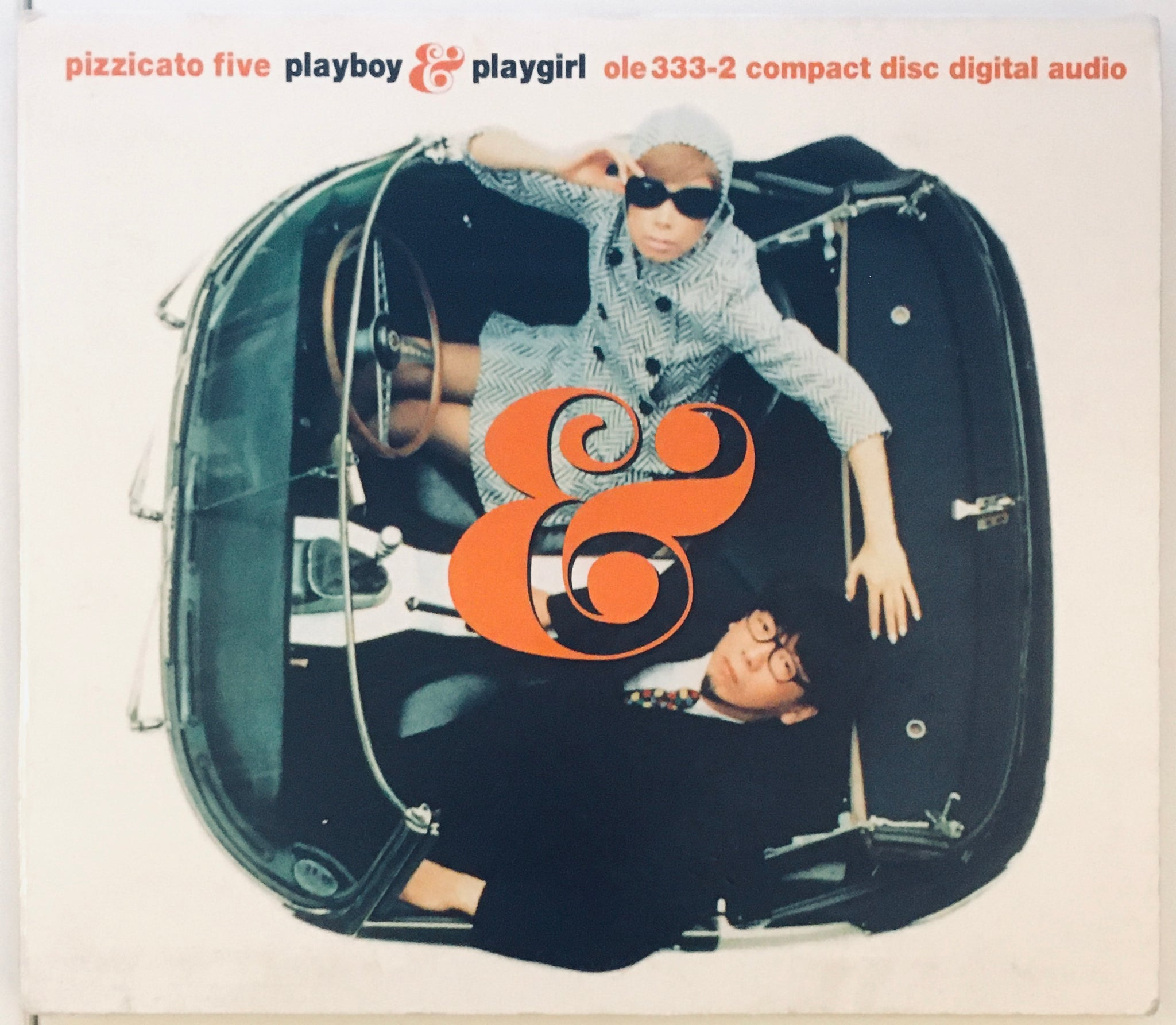 "Pizzicato Five ""(The International) Playboy & Playgirl"" US CD RE DIGI (1999)"