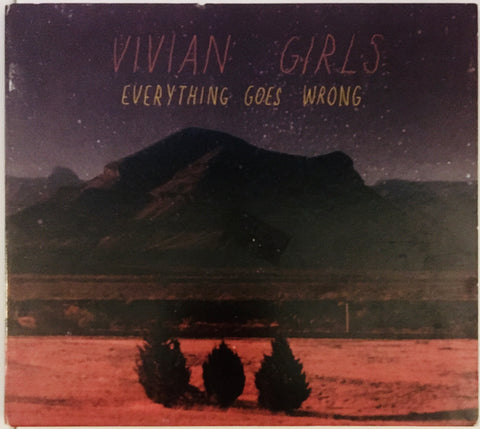 "Vivian Girls ""Everything Goes Wrong"" CD DIGI (2009)"