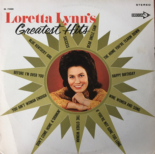 "Loretta Lynn's ""Greatest Hits"" LP (1978)"
