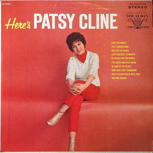 "Patsy Cline ""Here's Patsy Cline"" LP (1965)"
