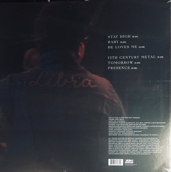 "Brittany Howard ""Live At Sound Emporium"" LP (RSD 2020)"