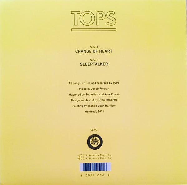 "TOPS ""Change Of Heart"" Single (2014)"