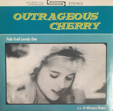 "Outrageous Cherry ""Pale Frail Lovely One"" Single (1993)"