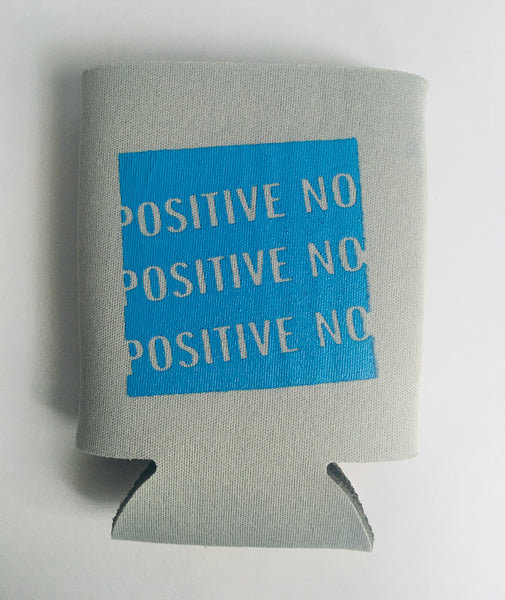 Positive No Assorted Koozie (SILVER/GREY)