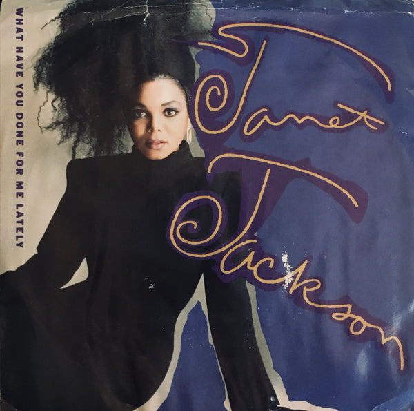 "Janet Jackson ""What Have You Done For Me Lately?"" Single (1986)"