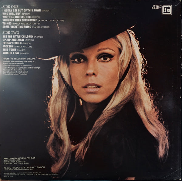 "Nancy Sinatra ""Movin' With Nancy"" LP (1967)"