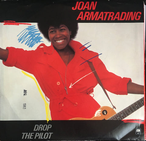 "Joan Armatrading ""Drop The Pilot"" Single (1983)"