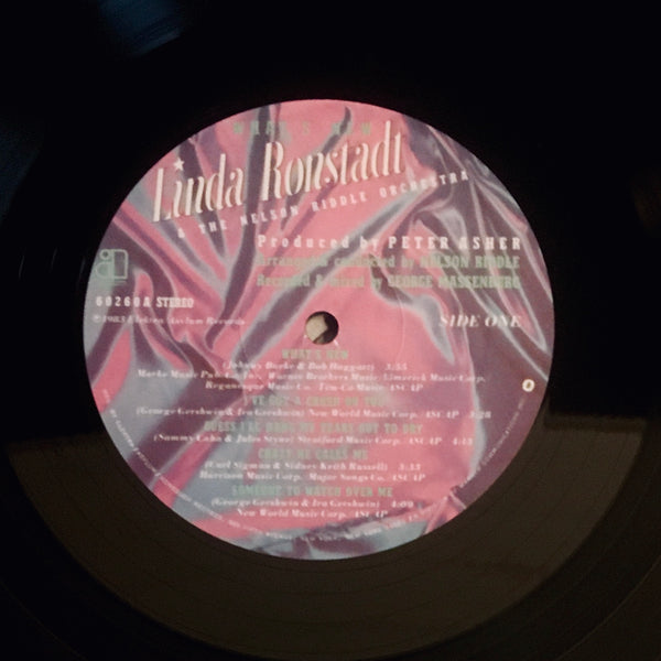 "Linda Ronstadt & The Nelson Riddle Orchestra ""What's New"" LP (1983)"