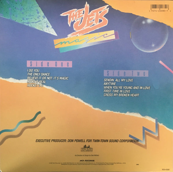 "The Jets ""Magic"" LP (1987)"