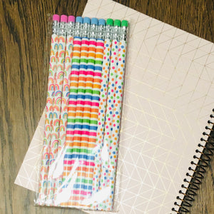 """Rainbow"" Pencils 10-Pack"