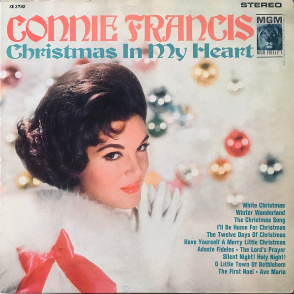 "Connie Francis ""Christmas In My Heart"" LP (1962)"