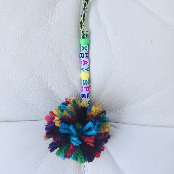 "Braided Bag Pom-Pom Pull ""Xray Spex"" Variation"