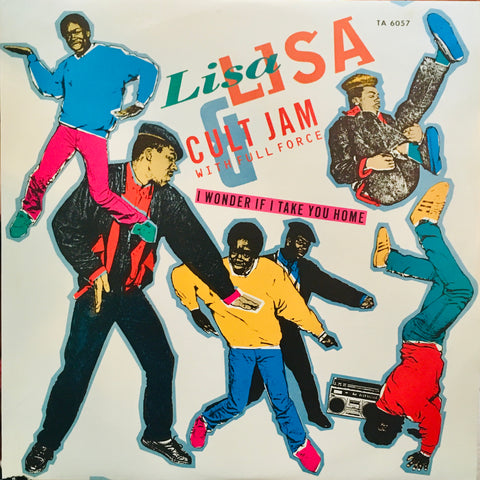 "Lisa Lisa & Cult Jam with Full Force ""I Wonder If I Take You Home"" LP (Single, 1985)"