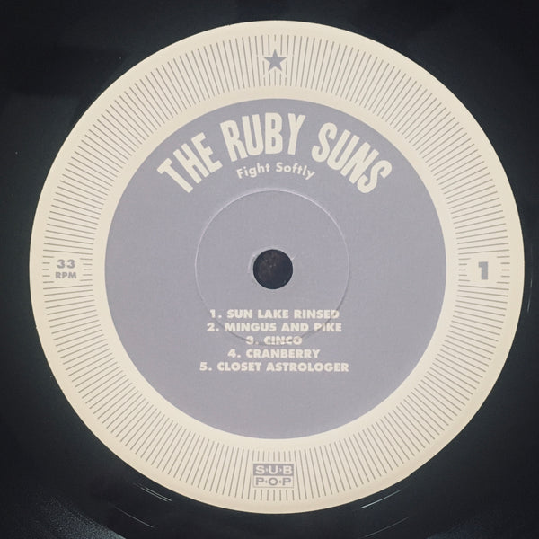 "The Ruby Suns ""Fight Softly"" LP (2010)"