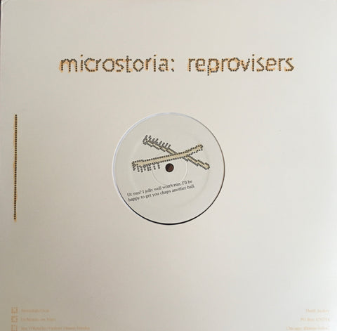 Reprovisers Series: Mouse On Mars b/w UI LP (1997)