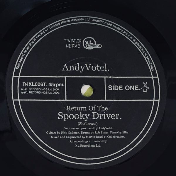 "Andy Votel ""Return Of The Spooky Driver"" Single (2000)"