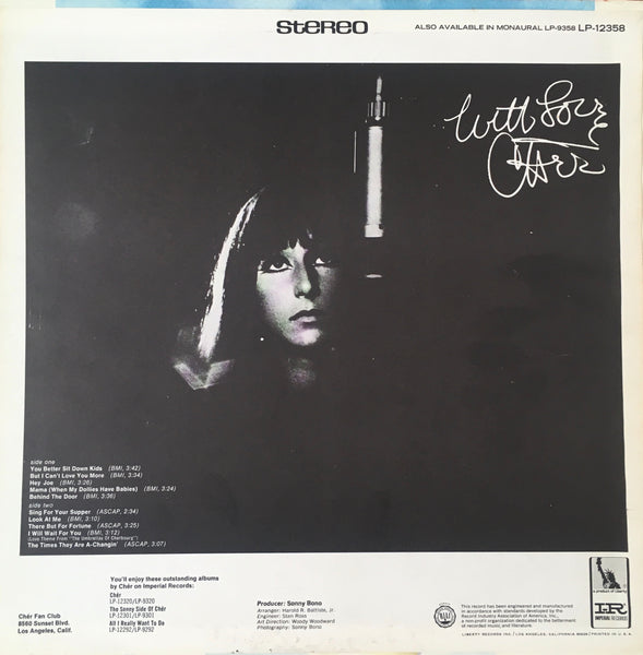 "Chér ""With Love"" LP (1967)"
