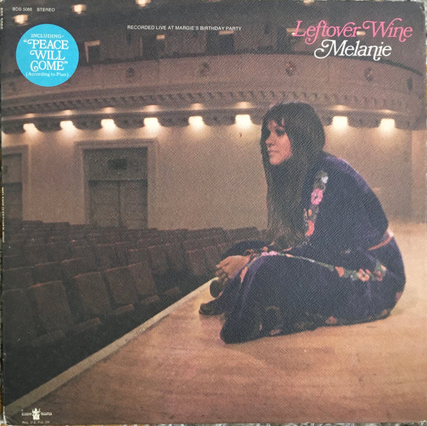 "Melanie ""Leftover Wine"" LP (1970)"