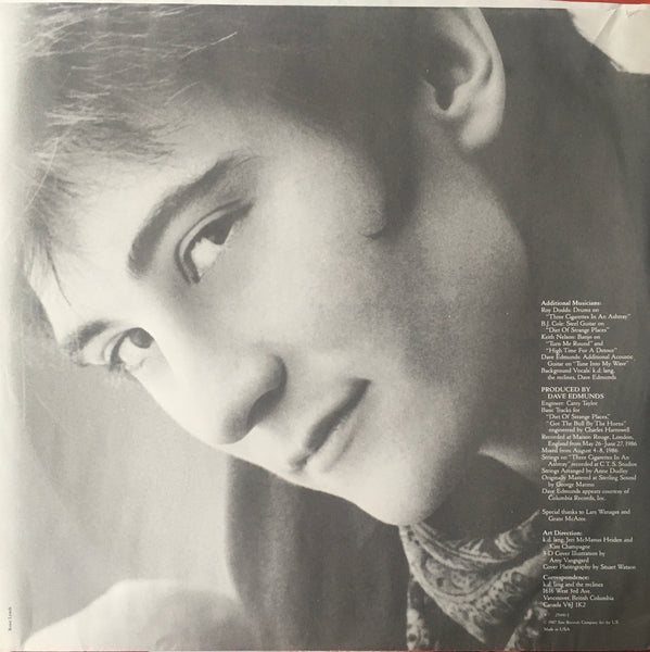 "k.d. lang and The Reclines ""Angel With A Lariat"" LP (1987)"