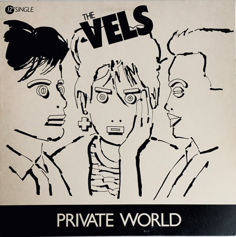 "The Vels ""Private World"" Single LP (1984)"