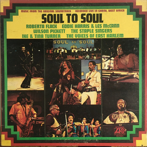 "Various ""Soul to Soul (Music from the Original Soundtrack)"" LP (1971)"