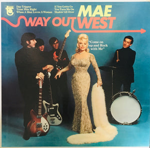 "Mae West ""Way Out West"" LP (1966)"