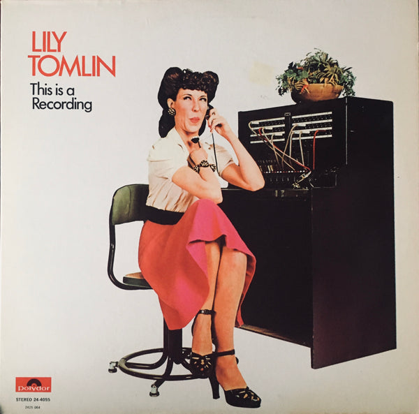 "Lily Tomlin ""This Is A Recording"" LP (1971)"