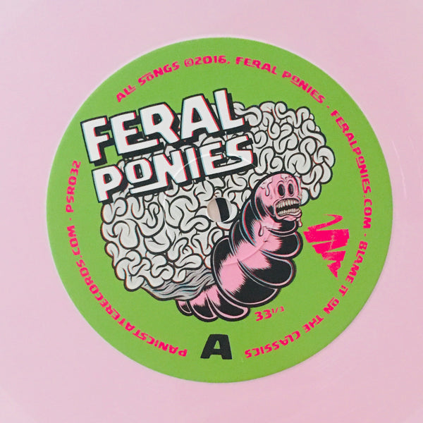 "Feral Ponies ""Blame It On The Classics"" LP (2016)"