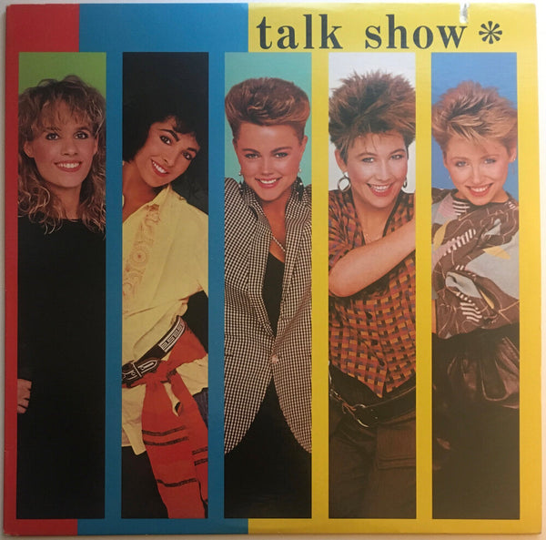 "The Go-Go's, ""Talk Show"" Promo LP (1984). Front cover image. Pop, pop-rock, pop-punk. Rare radio promo copy."