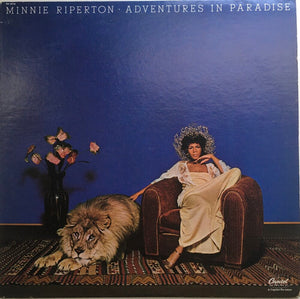 "Minnie Riperton, ""Adventures In Paradise"" LP (1975). Front cover image. Soul, pop. Unique press, rare find."