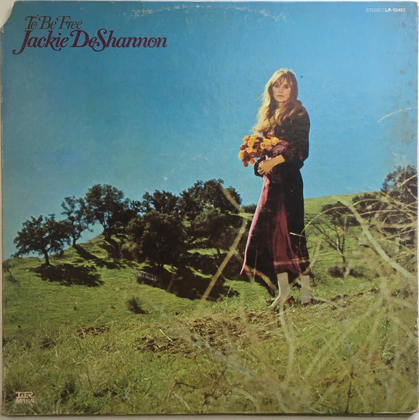 "Jackie DeShannon, ""To Be Free"" LP (1968). Front cover image. Folk, pop, pop-rock, sixties."