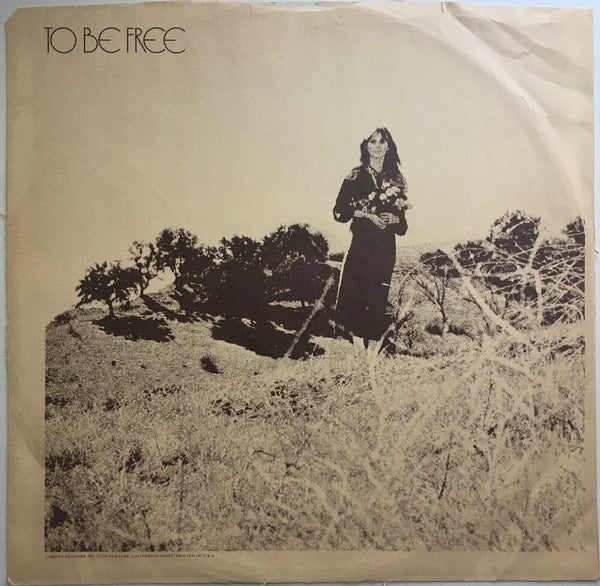 "Jackie DeShannon, ""To Be Free"" LP (1968). Front inner sleeve image. Folk, pop, pop-rock, sixties."