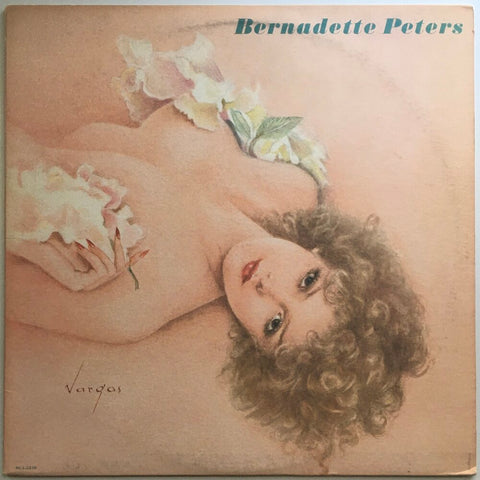 "Bernadette Peters, ""Bernadette Peters"" LP (1980). Pop-rock, show tunes. Front cover image. Actor Bernadette Peters."