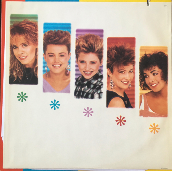 "The Go-Go's, ""Talk Show"" Promo LP (1984). Inner sleeve, front, image. Pop, pop-rock, pop-punk. Rare radio promo copy."