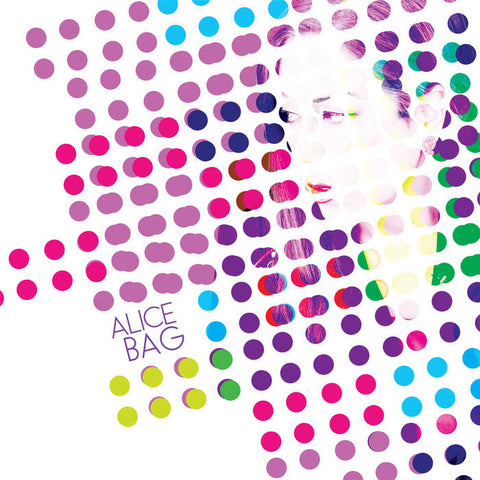"Alice Bag, ""Alice Bag"" LP (2016). Front cover image. Alice Bag's 2016 solo debut for Don Giovanni Records. A great album and a solid introduction to the solo work of punk songwriter Alice Bag."