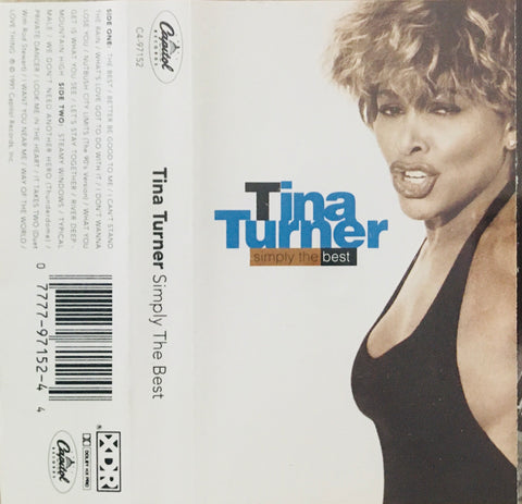 "Tina Turner ""Simply The Best"" CS (1991)"