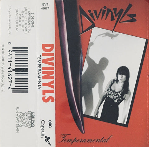 "Divinyls ""Temperamental"" CS (1988)"