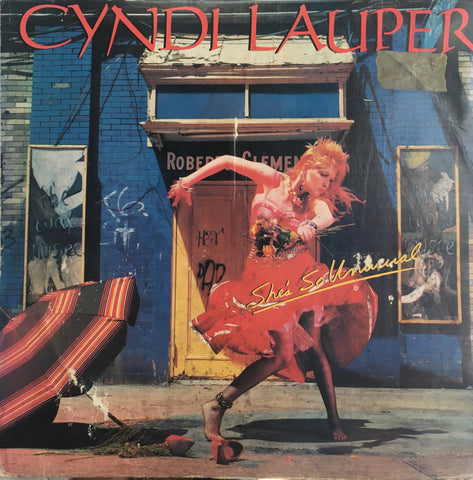 "Cyndi Lauper ""She's So Unusual"" LP (1983)"