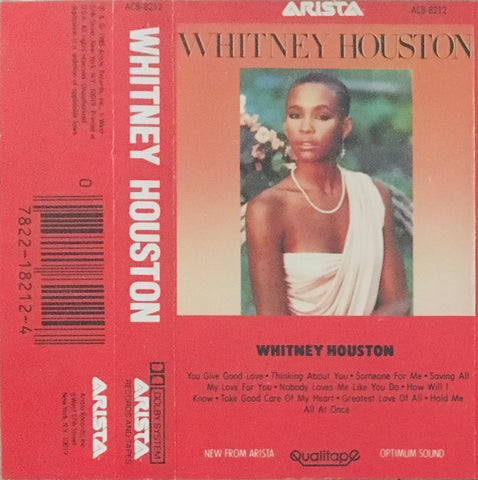 Whitney Houston Self-Titled CS (1985)