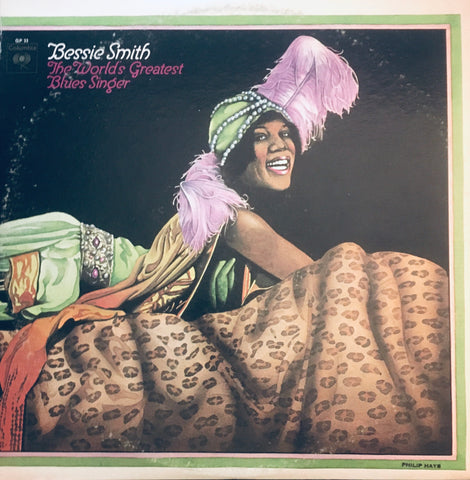 "Bessie Smith ""The World's Greatest Blues Singer"" 2XLP (1970)"