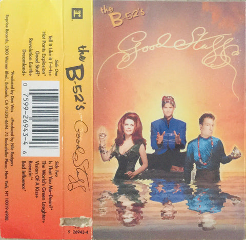 "B-52's ""Good Stuff"" CS (1992)"