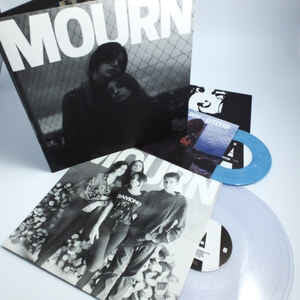 "Mourn, ""Mourn"" LP and ""Otitis"" Single and Pin Bundle pack. Pack image. Captured Tracks. Catalan punk."