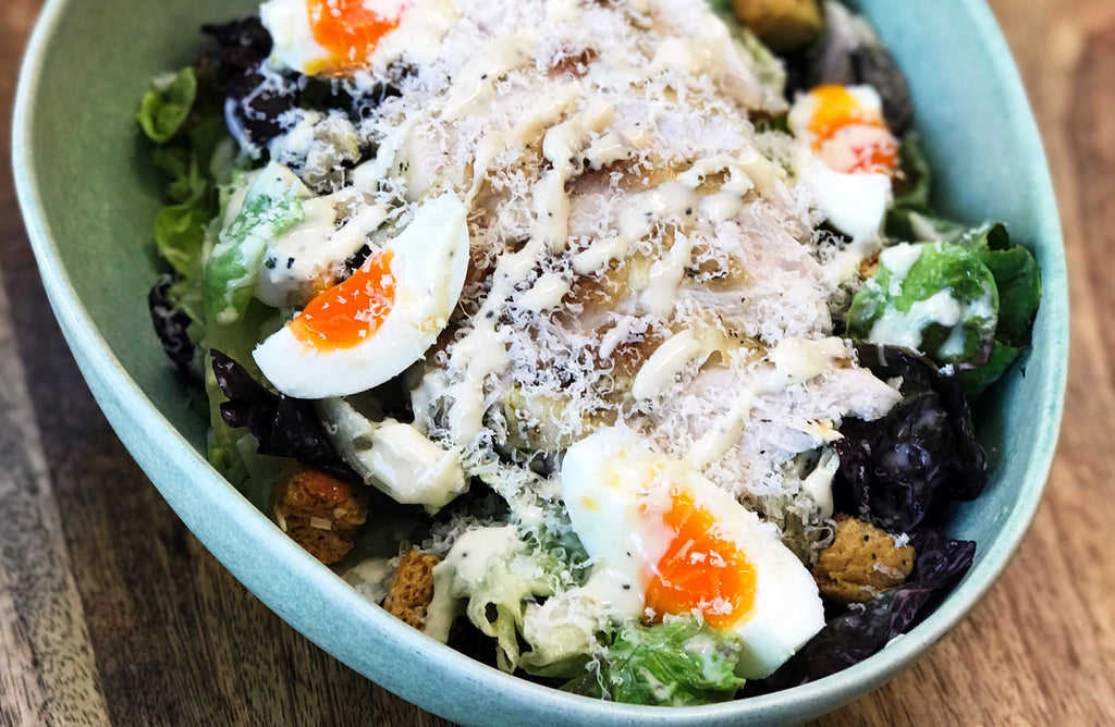Whole Boneless Free Range Packington Chicken Caesar Salad
