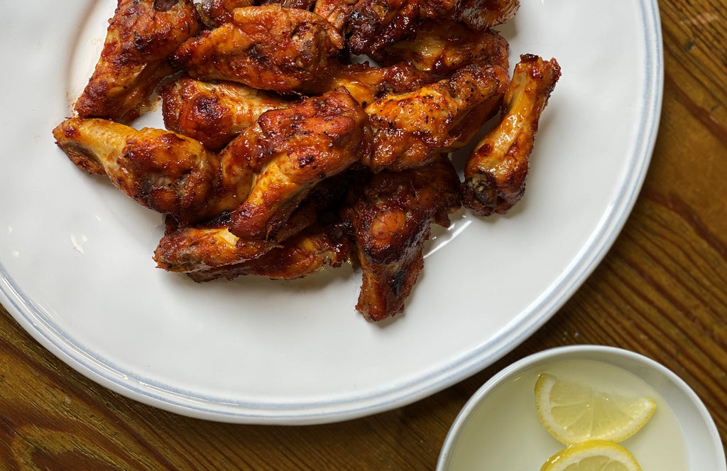 Chipotle & Maple Chicken Wings