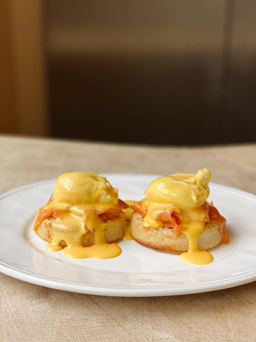 Eggs Royale with homemade Hollandaise recipe