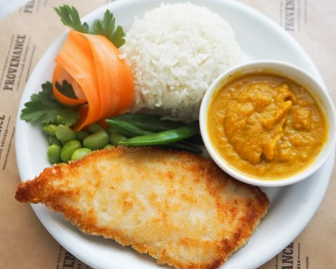 Family Friendly Chicken Katsu Curry recipe by @mimisbowl