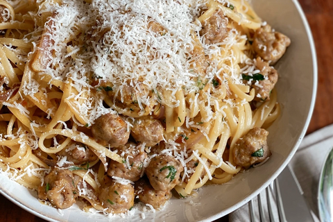 Sausage Carbonara recipe
