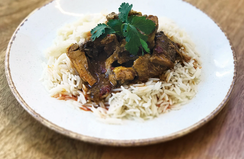 Chicken Curry with Fragrant Basmati Rice recipe
