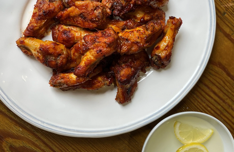 Chipotle & Maple Chicken Wings recipe